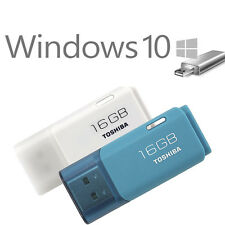 Windows 10 32+64 Bit 16GB Flash Drive USB 2.0 Stick Home Professional Bootable