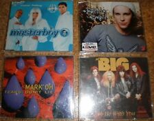 4 Musik-CD Rock, POP, RAP & HIPHOP, gemischt, BEN, Mr. BIG, masterboy, Mark' OH