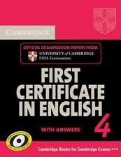 Cambridge First Certificate in English 4 for Updated Exam Students ...  BOOK NEU