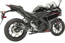 DG Performance Black Complete Full Exhaust V2 For Yamaha R3 15-16 078-4300