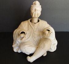 Vintage Ardalt Lenwile Chinese Bisque Nodder Figurine Man Juggling 2 Orbs
