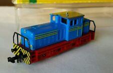 Minitrix Spur N 2066 blaue Diesellok Industrie Werklok, OVP! Top Zustand!