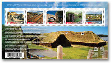CANADA 2017 UNESCO WORLD HERITAGE SITES SOUVENIR SHEET