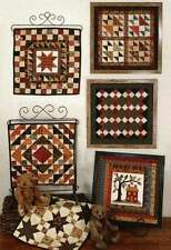 QUILT SQUARES 5- COMBINING WOOL & FLANNEL PATTERNS, From My Heart To Your Hands
