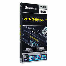 Corsair 8GB Vengeance DESKTOP PC DDR3 CMZ8GX3M1A1600C10 1600 MHz RAM + 10 YW