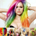 """20"""" Multi Colour Women's Long Straight Synthetic Clip-in Hair Extensions Piece"""