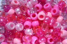 100 x Little Princess Pony Bead Mix 9mm x 6mm Hole 4mm Ideal For Dummy Clips