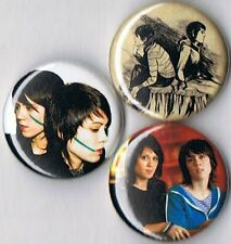 set of 3 Tegan and Sara pins buttons badges the con