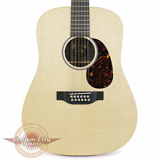 Brand New Martin D12X1AE 12 String Dreadnought Acoustic Electric Guitar Natural
