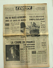 Journal l'Equipe n°5870 - 1965 - Ski Marielle Goitschel Traudl Hecher - Basket