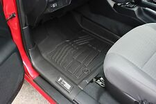Front Row Floor Mats in Black for 2016 Toyota Tacoma