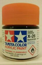 Tamiya acrylic paint X-26  Clear Orange   23ml