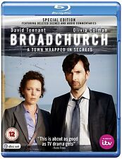 Broadchurch - Series 1 - Blu Ray - Special Edition- New - Deleted scenes/extras