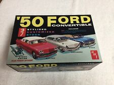 Vintage 1/25 AMT 1950 Ford Convertible model car ***Open But Looks Un-Touched***
