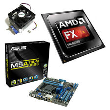 AMD FX 4300 Quad Core 4.00 GHz ASUS m5a78lm-usb3 scheda madre Bundle