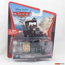 Disney Pixar Cars 2 Galloping Geargrinder #41 - worn dented package