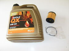 OIL AND OIL FILTER  CITROEN DS3 DS4 DS5 XSARA PICASSO 1.4 1.6 PETROL & 2.0 HDi