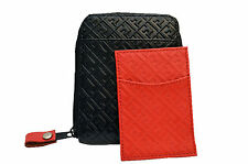 Freshjive zipper Leather wallet name MONOGRAM and card holder