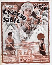 DOLORES DEL RIO Château de sable NO OTHER WOMAN TELLEGEN Alvarado BRANTONNE 1928