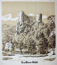 Schloss Alt-Falkenstein Klus bei Balsthal Ruine Solothurn Burkhard von Fenis
