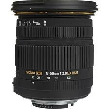 Sigma EX 17-50mm f/2.8 OS HSM DC Lens For For Nikon
