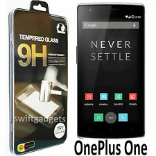 100% GENUINE PREMIUM TEMPERED GLASS SCREEN PROTECTOR FILM FOR ONEPLUS ONE