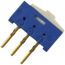 2 ECE ESP1010 SIP-Schalter 1xUM 12V 50mA  24V 20mA Schiebeschalter RM2,54 856435