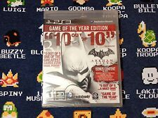 Batman: Arkham City BLACK LABEL BRAND NEW SEALED  (PlayStation 3, 2012)