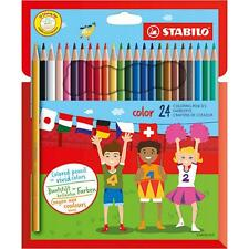 24 x STABILO COLOR COLOURING PENCILS - Includes Neon Colours (1924/77-01)