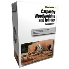CARPENTRY WOODWORKING WOOD JOINERY TRAINING STUDY COURSE MANUAL ON CD