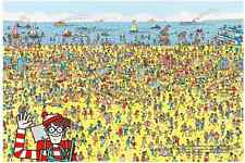 "Jigsaw Puzzles 1000 Pieces ""Where's Wally?"" : Beach"""