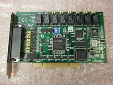 ADVANTECH PCI-1760U 8-Channel Relay Isolated Digital Input Universal PCI Card