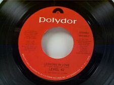 """LEVEL 42 """"LESSONS IN LOVE / HOT WATER"""" 45"""