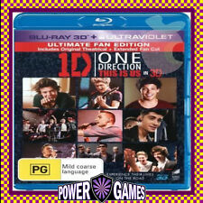 1D ONE DIRECTION THIS IS US (Blu Ray) Brand New