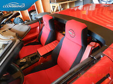 Chevy Corvette C4 Coverking Neosupreme Custom Fit Seat Covers with C4 Logo