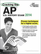 College Test Preparation: Cracking the AP U. S. History Exam, 2014 Edition by Pr