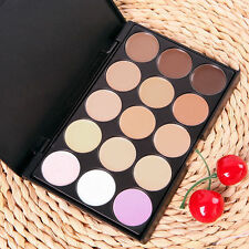 15 Colors Camouflage Concealer Make Up Cream Palette Professional Eyeshadow BE