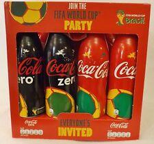 COCA-COLA BRASIL 2014 FIFA COPA DEL MUNDO COLECCIONISTAS FÚTBOL Y 4