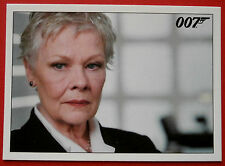 JAMES BOND - Quantum of Solace - Card #012 - Tanner Brings M Up To Speed