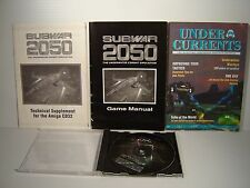 Subwar 2050  - game for Amiga CD32 - works great