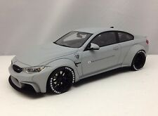 GT Spirit BMW M4 (F82) LB Performance Liberty Walk Matt Gray Resin Model 1:18