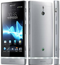 Sony Xperia P LT22i Silver Android OS smartphone 8MP 16GB  free shipping