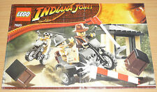 Lego Indiana Jones Bauplan für 7620, only instruction
