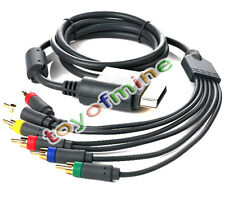 Plomo Componente HD AV VGA Audio Video HD TV por cable del monitor para XBOX360