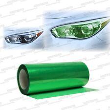 "Glossy Green Tint Smoke Vinyl Film Wrap Headlights Fog Lights 12"" x 48"" - Scion"