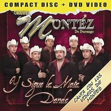 NEW/Sealed CD+DVD Grupo Montez De Durango, Y Sigue La Mata Dando