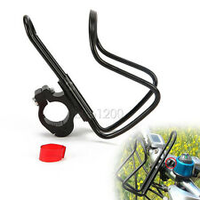 Black Motorcycle Bike ATV Handlebar Mount Cup Can Bottle Drink Holder Water