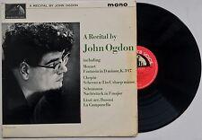 JOHN OGDON A Recital by John Ogdon U.K. HMV ALP 1995 MONO EX/VG