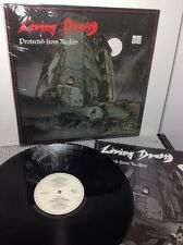 LIVING DEATH Protected From Reality Vinyl Record 1987 AAARRG 5 Orig Inner Sleeve