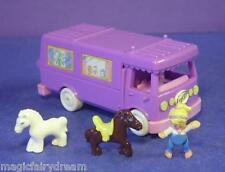 Polly Pocket Mini ♥ Pferde Transporter ♥ Stable on the Go ♥ 100% Complete ♥ 1994